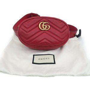 Authentic GG Belt Bag Calfskin Leather